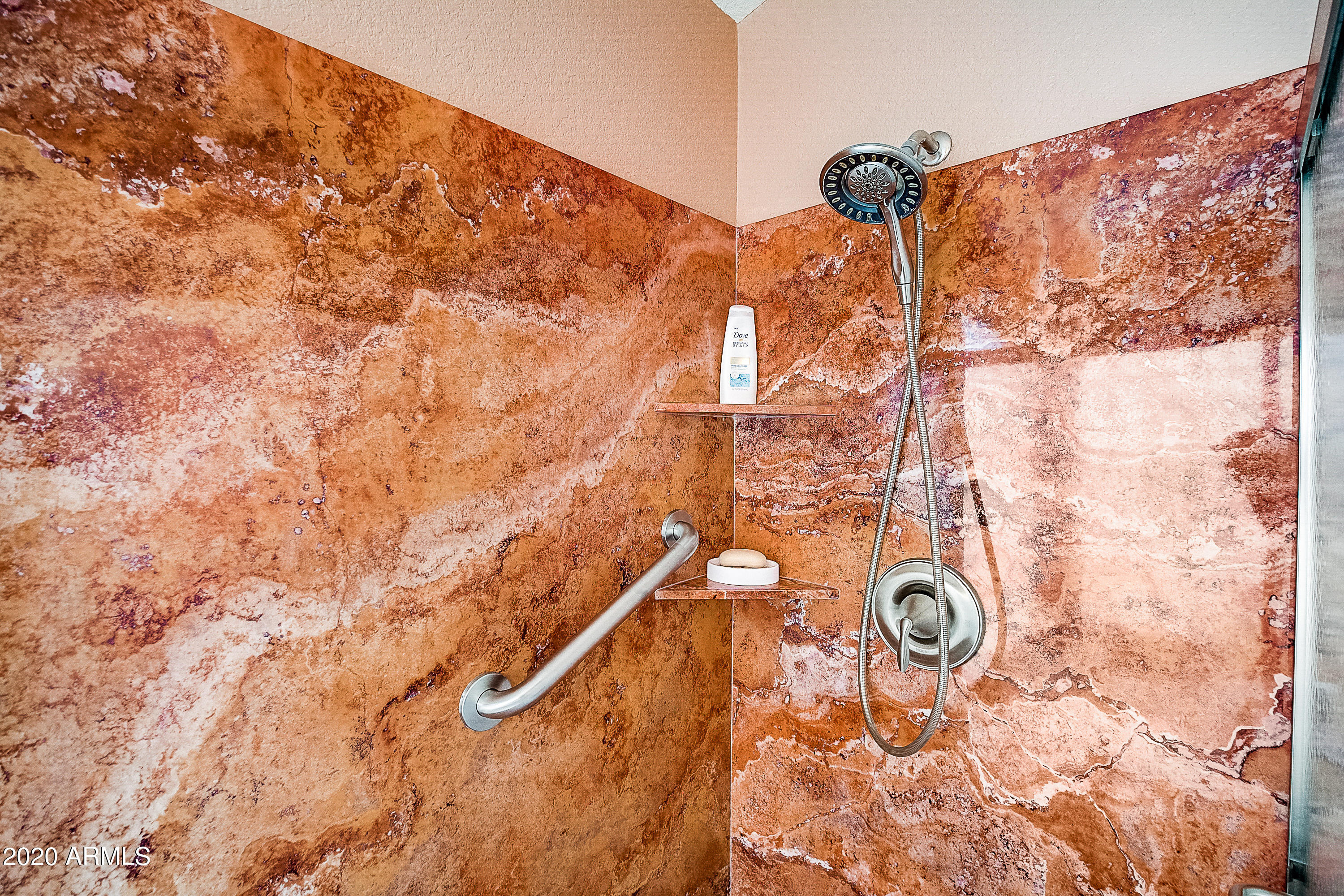35-Patrician Marble Shower
