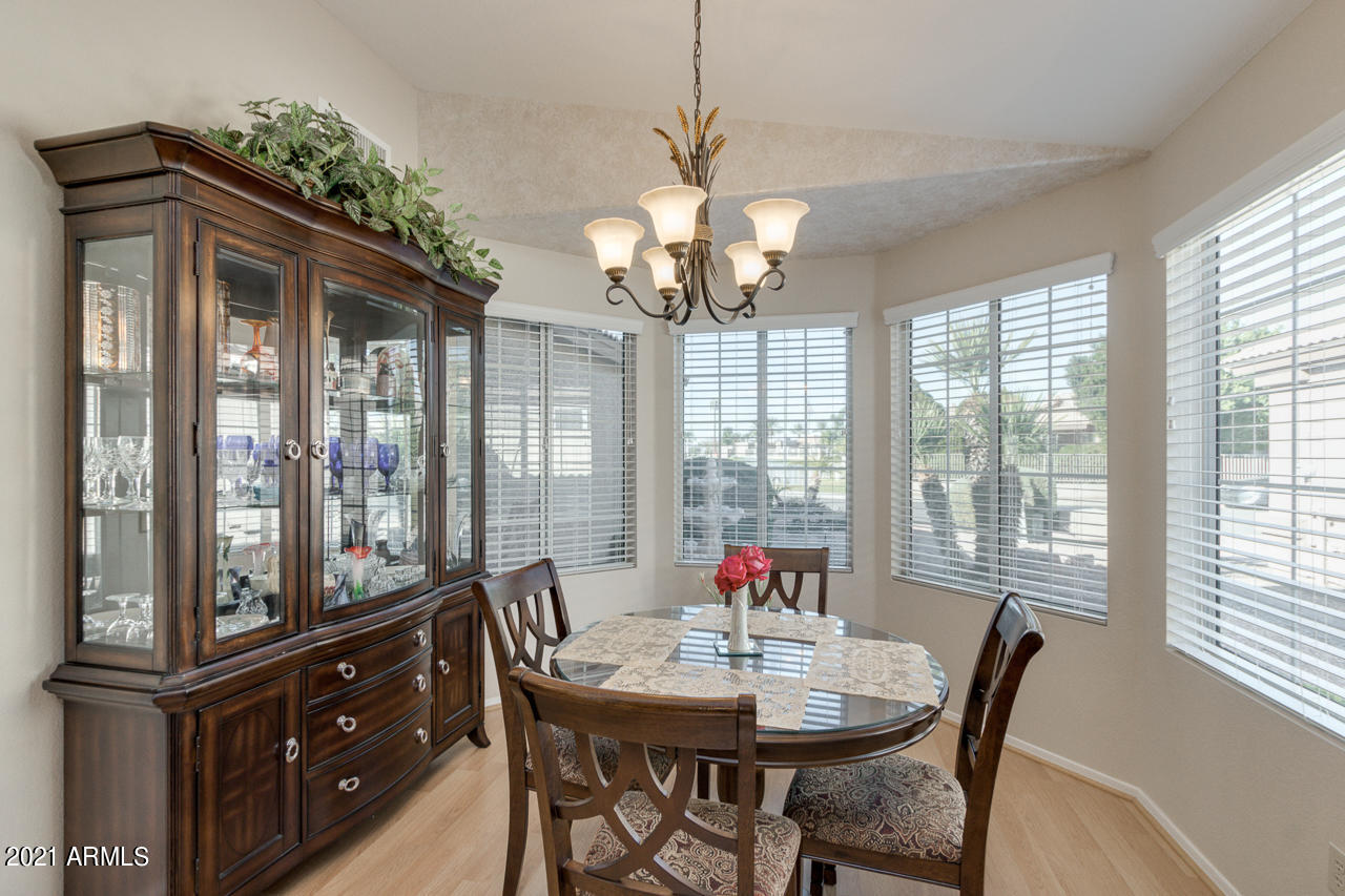 Dining Room with view of lake