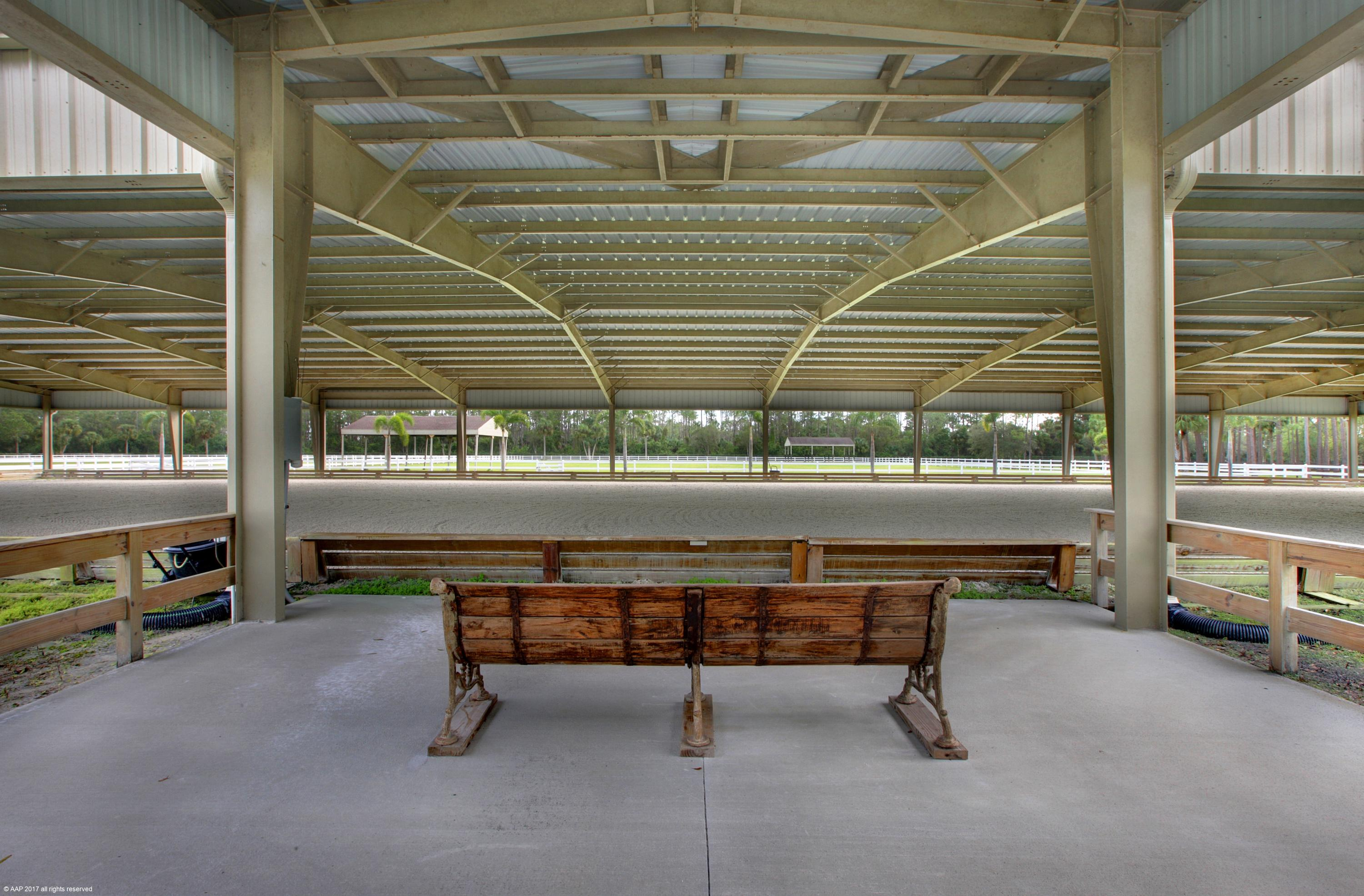 Viewing Area at covered arena