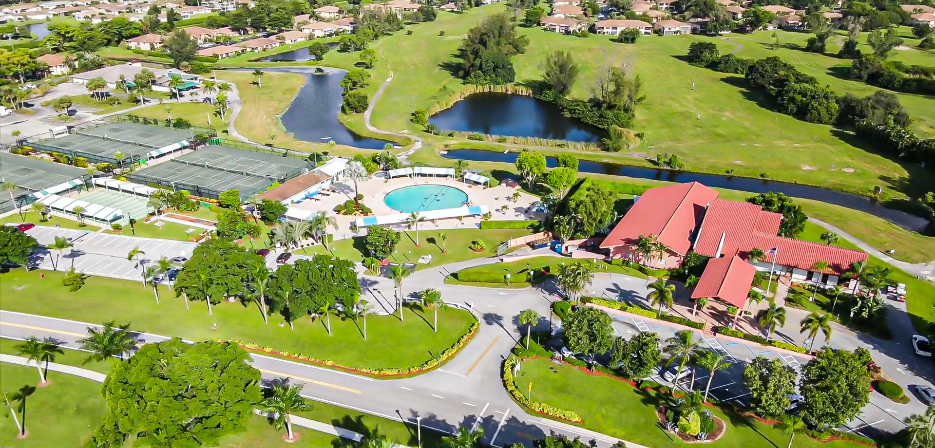 Aerial of Main Clubhouse