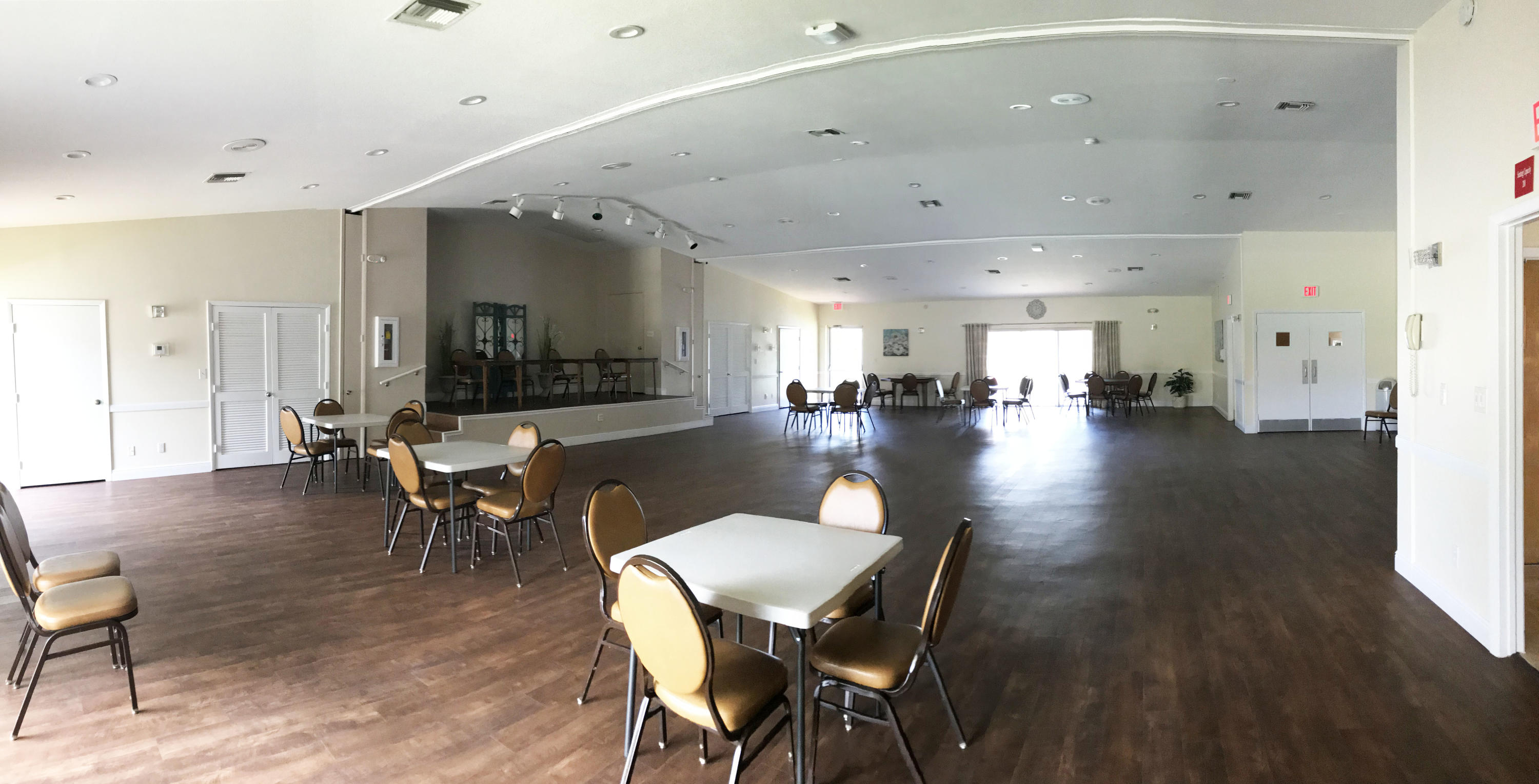 Clubhouse Events Room