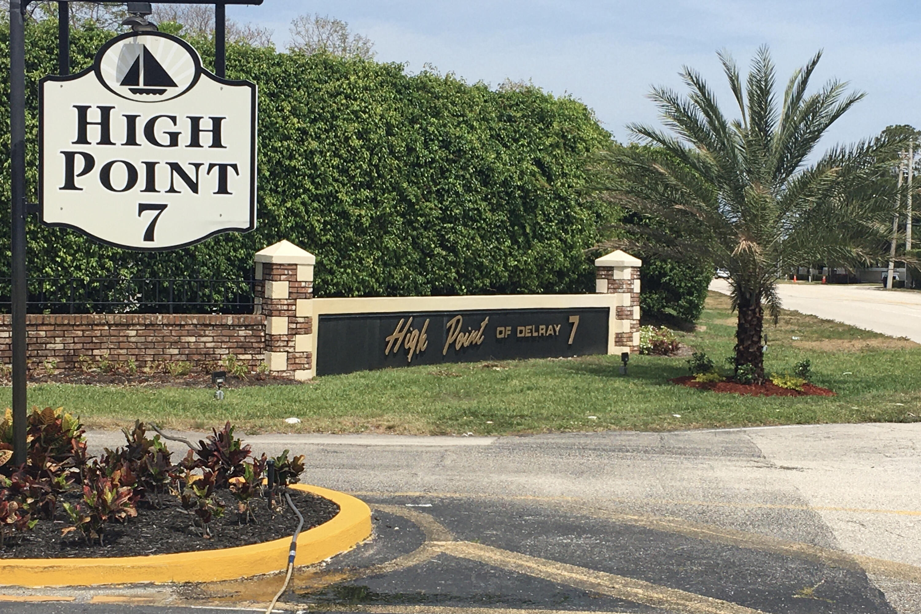 Main Entrance to HIGH POINT 7