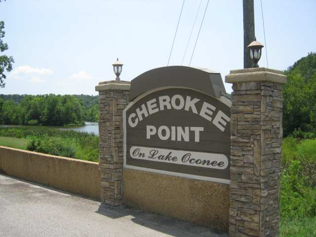 Entrance from Lake Oconee Parkway