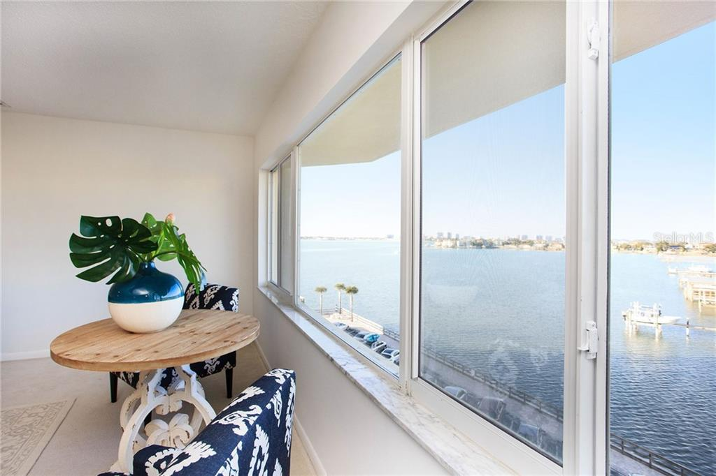 Boats, Belleair Views, Bridges, and Beauty can be all yours in 410C!
