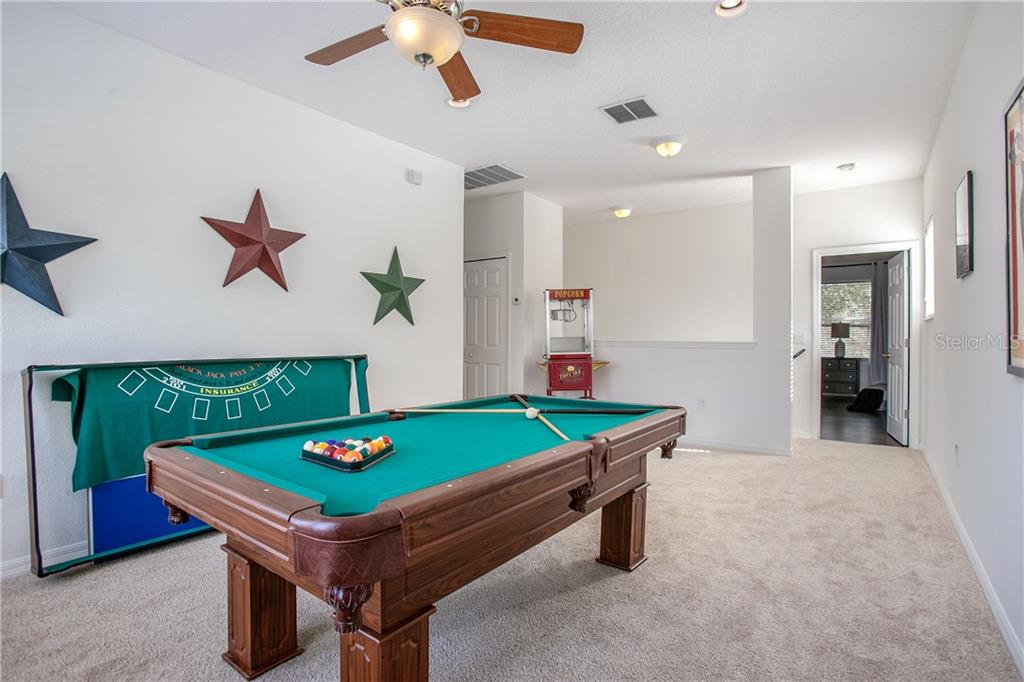 Bonus room, can be used for many things: kids play area, movie room, extra family room, exercise area, game room the list goes on.