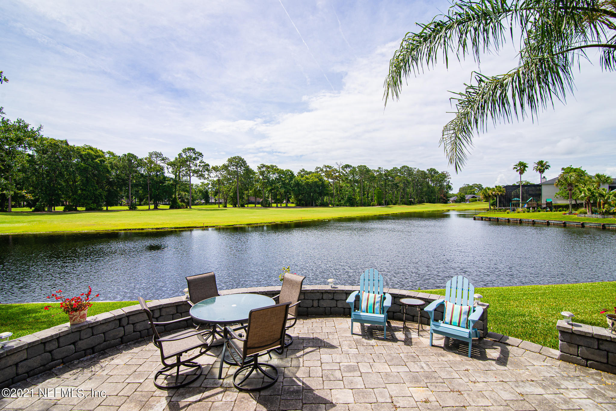 Unobstructed Water and Fairway Views