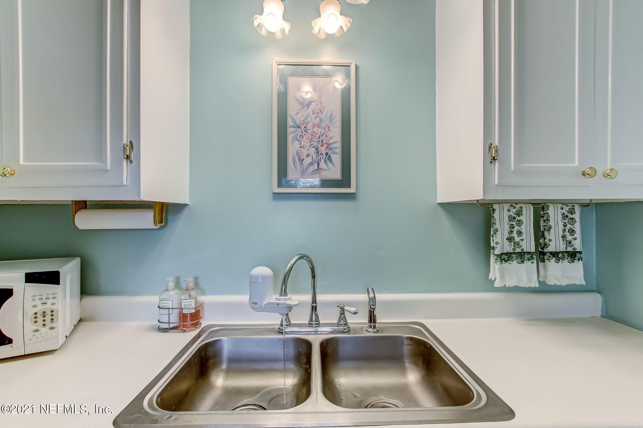 Kitchen with Stainless Sink