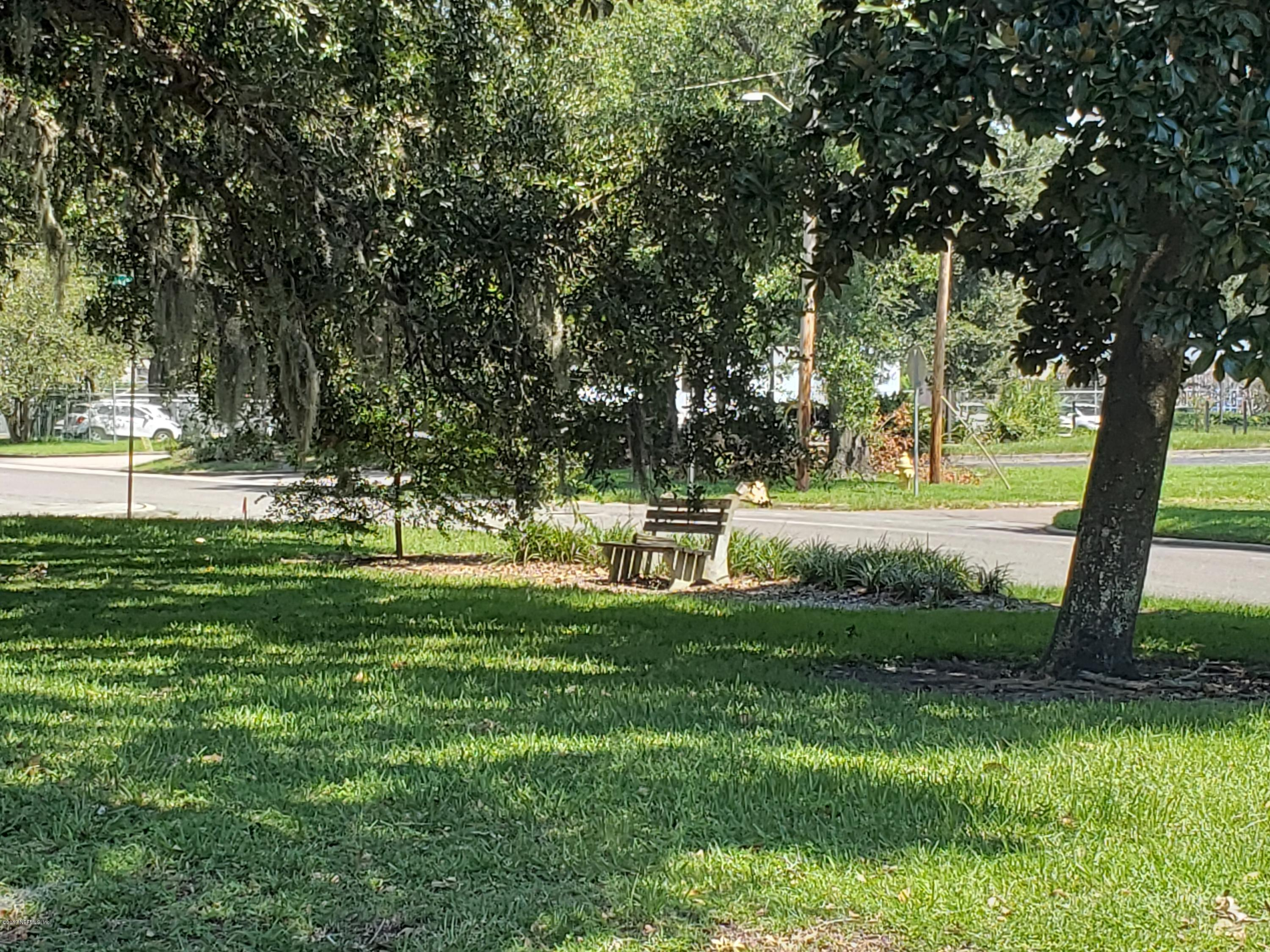 park across from house front yard