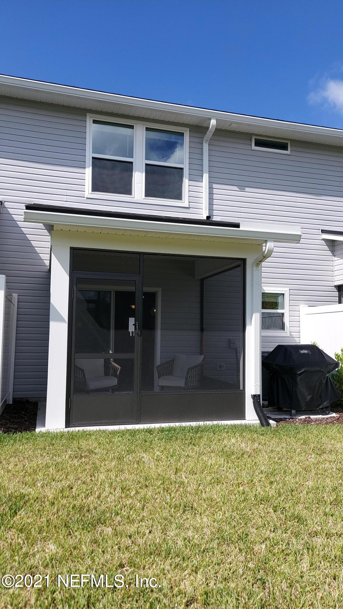 screened porch outside