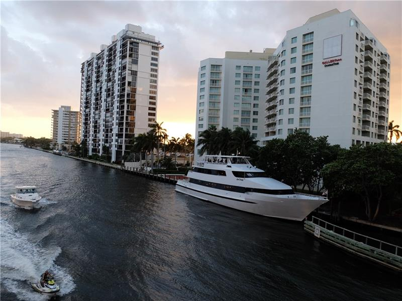 Gallery ONE is a Relaxing Stay on the intracoastal waterway, less than a 5-minute walk from Galleria Fort Lauderdale. The beach is a half-mile east and it\'s a five-mile drive to conventions and cruises at Port Everglades. The water taxi stops at our hotel, giving you easy access to hotspots like Las Olas Boulevard. Relax in our waterfront outdoor pool.