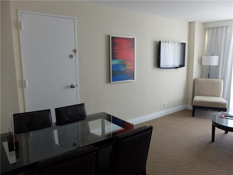 Dining Area from Those Room Service Meals and Snack or For the Occasional Business Matters. Unit and Resort is Equipped with Everything you need, no need to leave the premises if you don\'t want to.