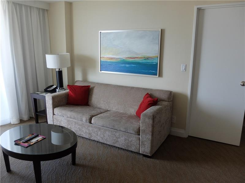 Have additional guests? No problem, unit is equipped with a Sleeper Sofa. Resort Style Living Gallery ONE thought of it All!