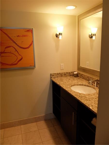 Spacious Bathroom with all the space you and your guests may need during your stay!