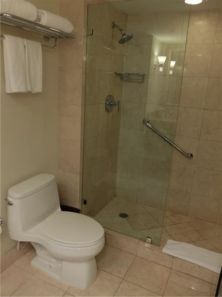 Spacious Bathroom and Shower with all the space you and your guests may need during your stay!