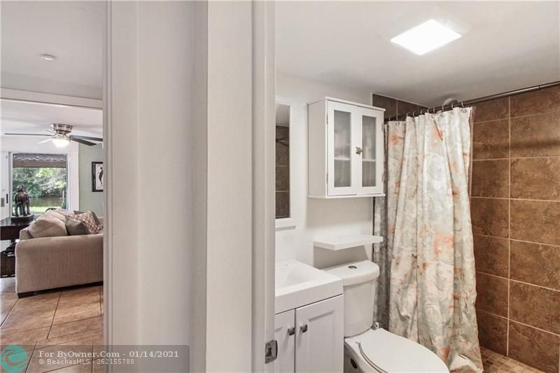 This is the Second Bathroom or can be used for the Mother In Law Suite!