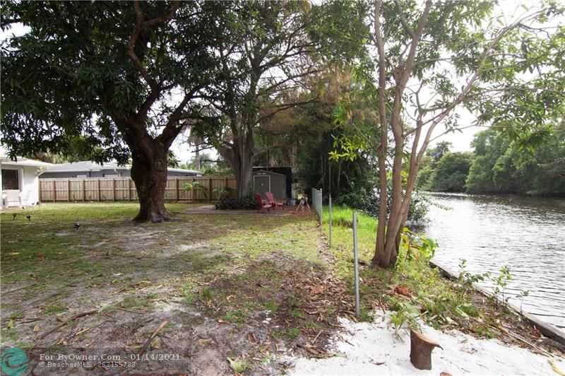 A Shed for Storage and Huge Yard! Enjoy Sitting under the Big Mango Tree!