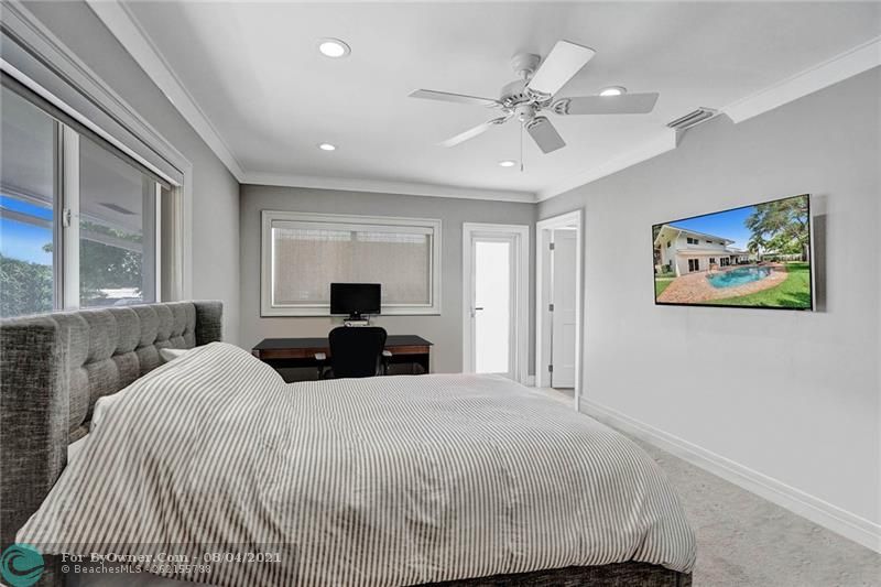 Virtual Staged: Secondary Bedroom