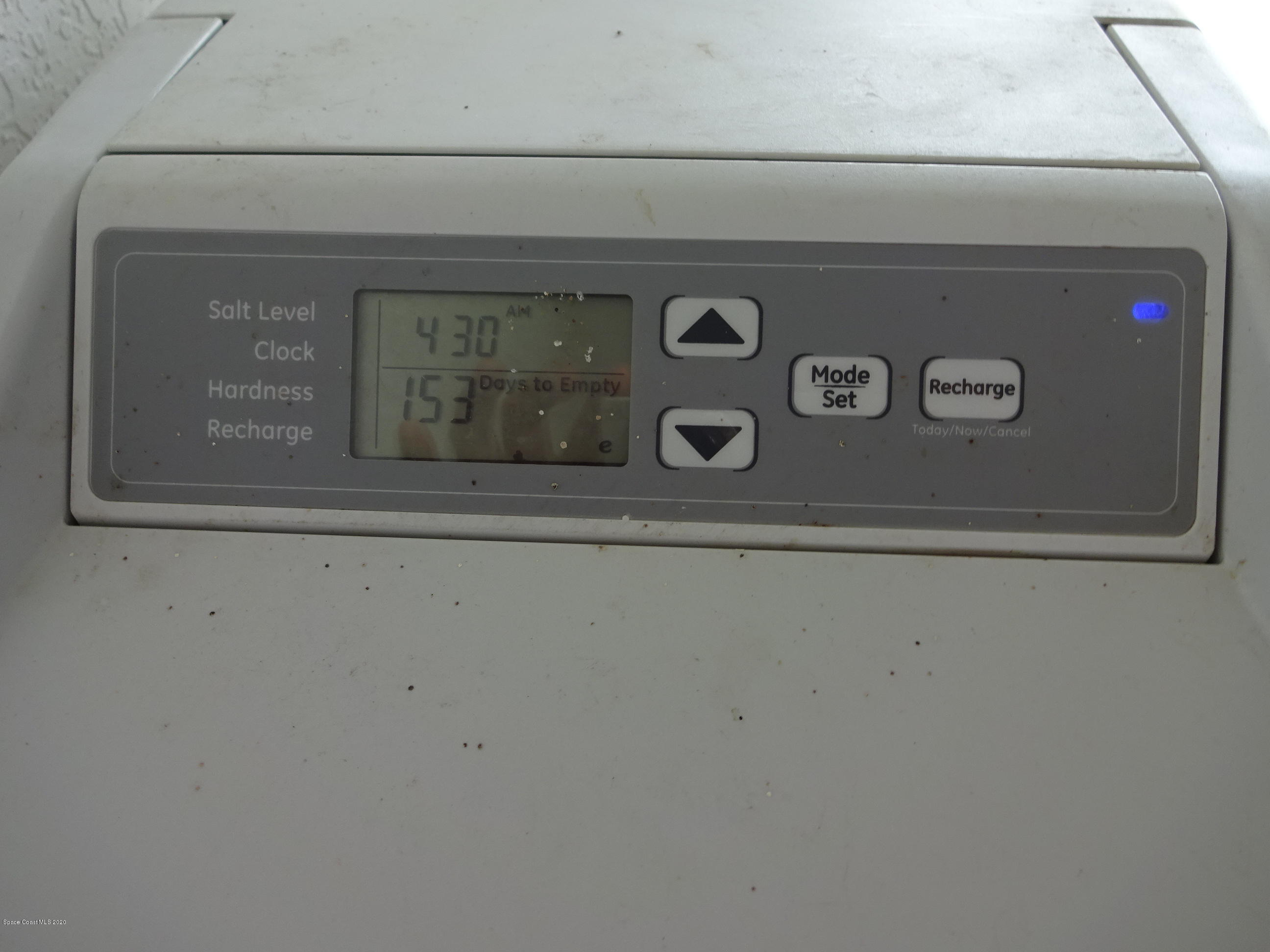 Screen on Water Softener